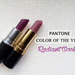 Radiant Orchid Lips!