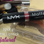 NYX Matte Lipstick in Natural Review