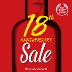 The Body Shop turns 18! (+Haul)