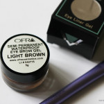 Ofra Cosmetics Semi Permanent Waterproof Eye Brow Gel in Light Brown Review!
