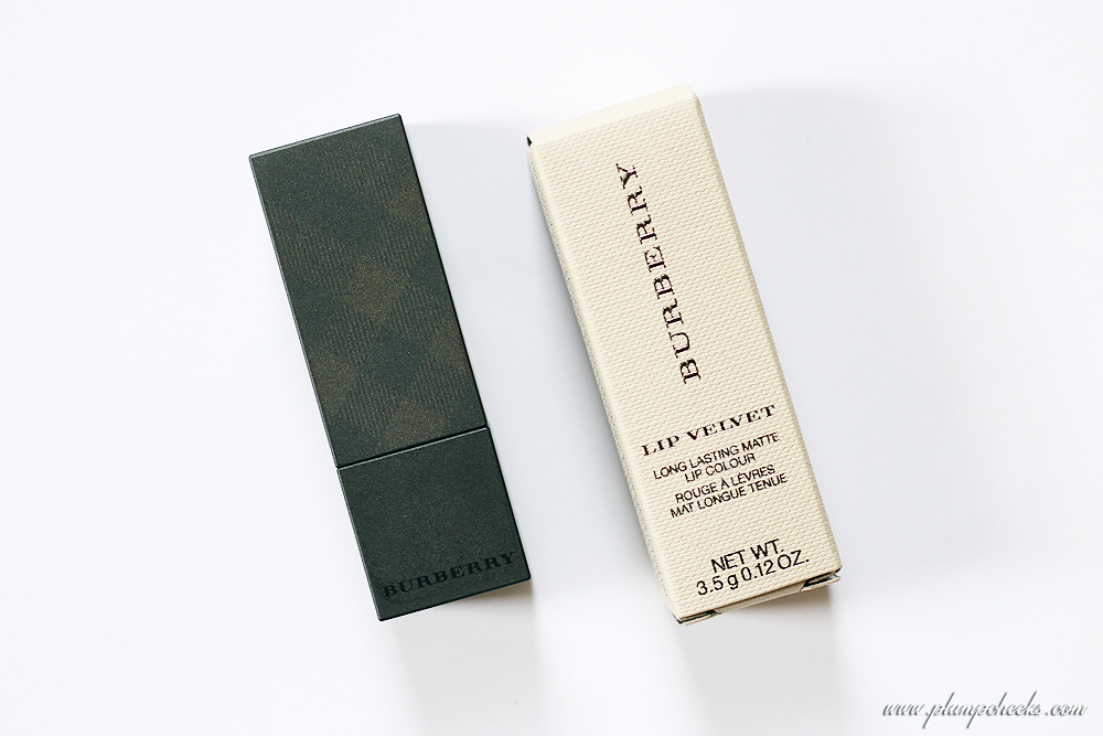 Burberry Lip Velvet Long Lasting Matte Lip Colour in Rosewood No. 421