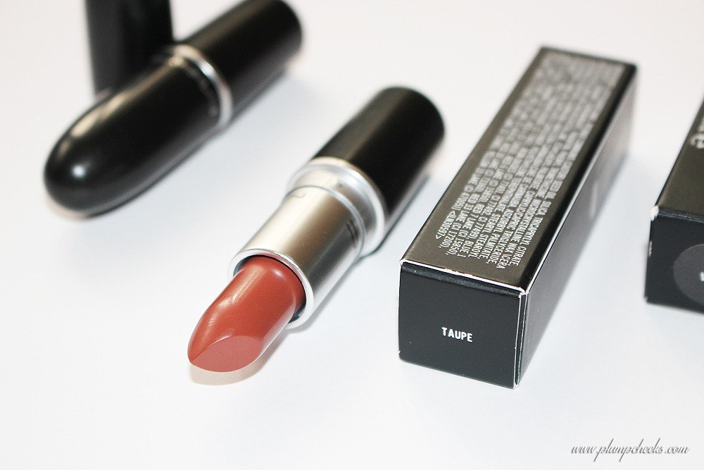 MAC Matte Lipstick in Taupe (3)