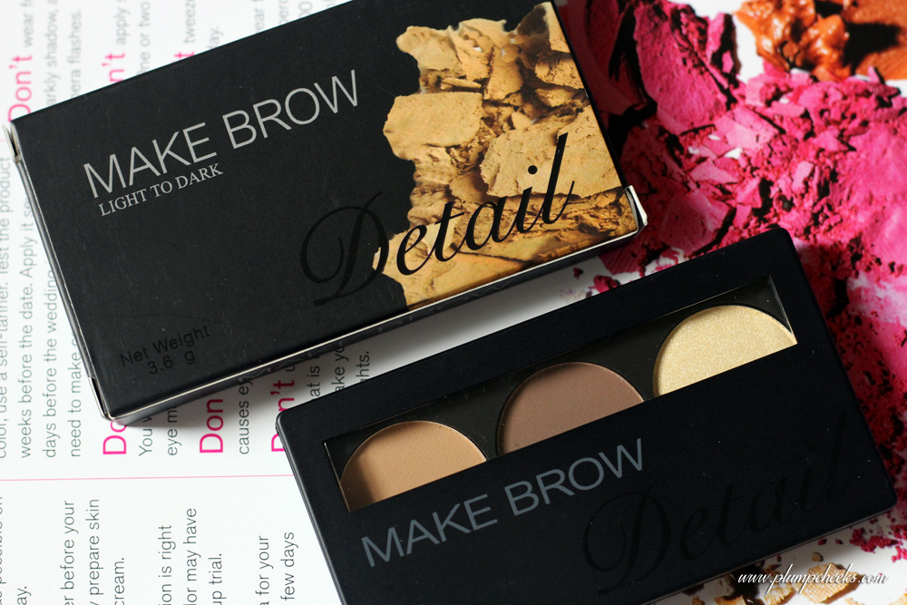 MATTE IN DETAIL MAKE BROW #1