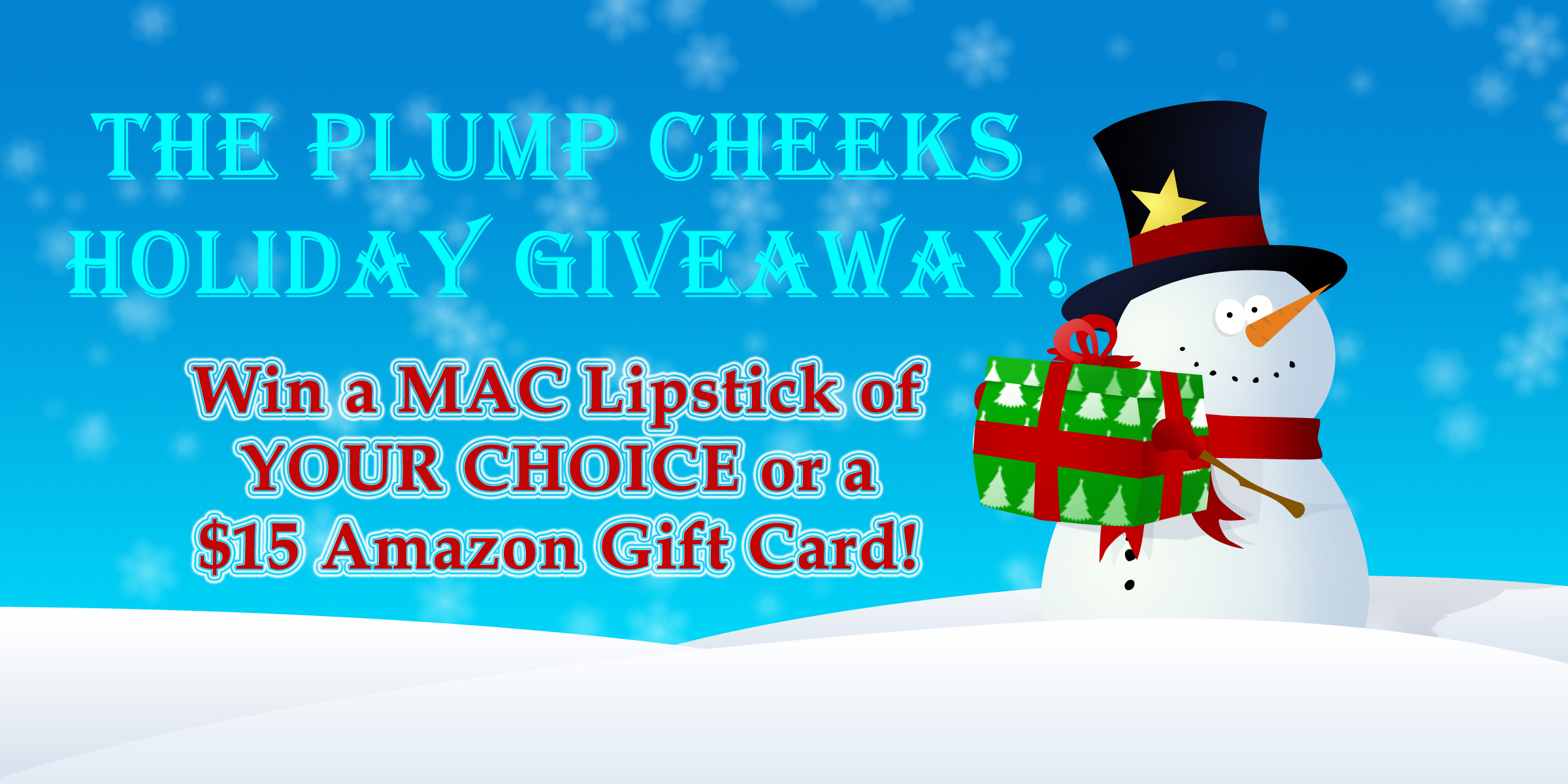 amazon macbook giveaway the plump cheeks holiday giveaway closed 6686